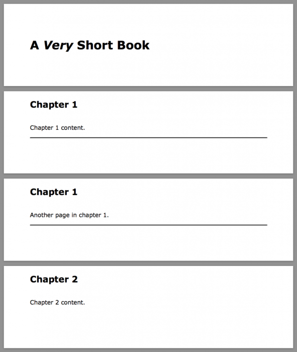 a short book sample using statically flowed header content